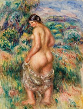 Badende Schönheit, Pierre-Auguste Renoir (1910) von Atelier Liesjes