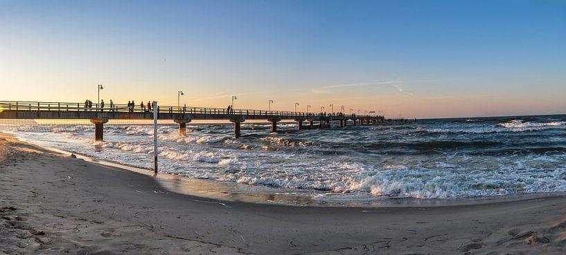 Sonnenuntergang am Nordstrand in Göhren auf Rügen von GH Foto & Artdesign