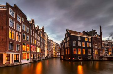 Klein Venetië, Amsterdam, Nederland van Adelheid Smitt