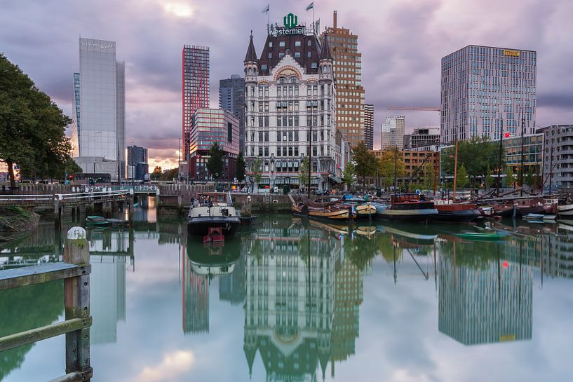 Oude Haven Rotterdam van Ilya Korzelius