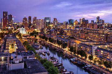 Skyline bij avondlicht | Rotterdam