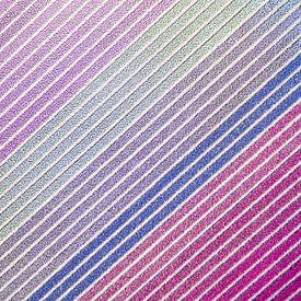 Diagonal Reihen von Hyazinthen von Fotografie Egmond