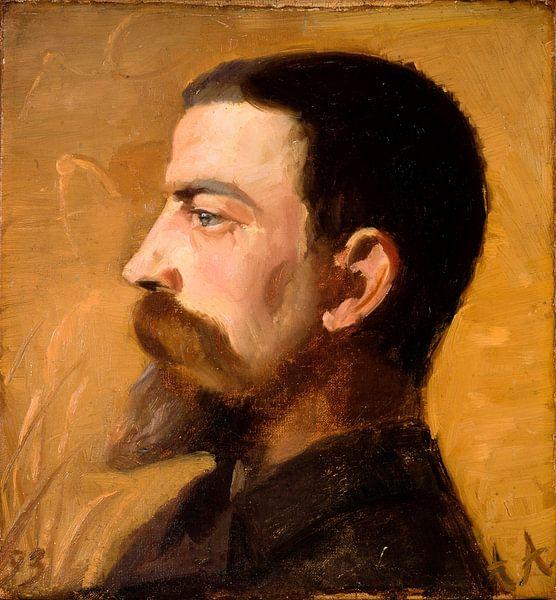 Valdemar Schønheyder Møller, Anna Ancher von Meesterlijcke Meesters