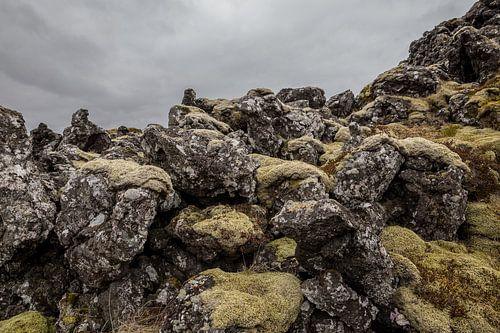 Fiskbyrgi, lava steen in IJsland