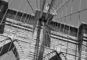 Brooklyn Bridge ( New York City) van Marcel Kerdijk