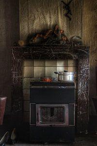 Kachel in een spookhuis