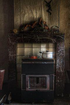 Kachel in een spookhuis von Melvin Meijer