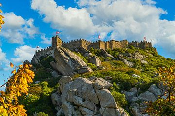 Auf dem Berg in Sintra, Portugal von Ivo de Rooij