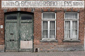 Vieille façade sur Frédéric Goetinck-Moret
