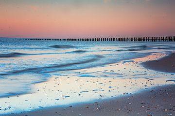 paysage marin pastel sur natascha verbij