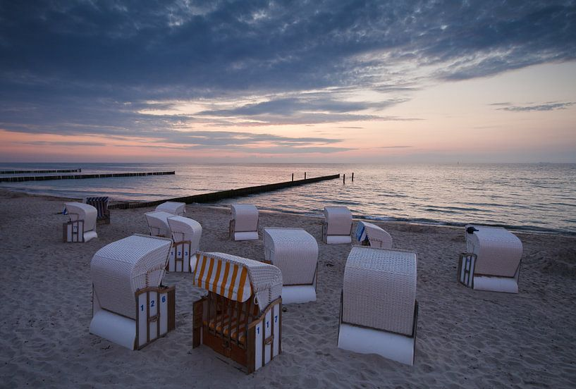 Abends an der Ostseeküste von Rico Ködder