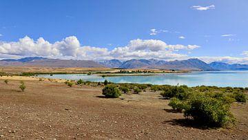 Der blaue See von: Tekapo-See von Maurits Simons