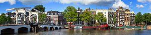 Amstel en Magere brug panorama