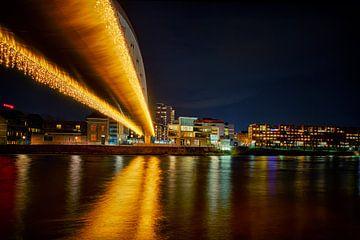 Maastricht by night, Hoge brug van Carola Schellekens