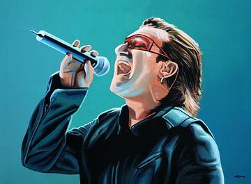 Bono schilderij van Paul Meijering