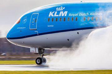 KLM Boeing 787 Schubumkehr! von Dennis Janssen