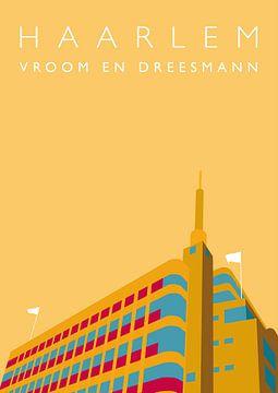 Vroom en Dreesman Haarlem von Erwin van Wijk