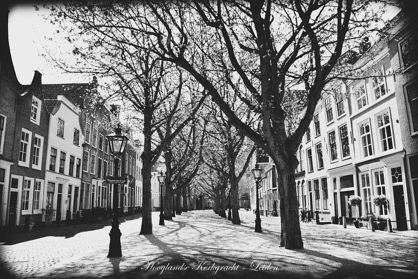 Black & White Leiden van Hendrik-Jan Kornelis