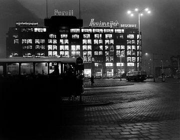 Rotterdam Stationsplein Dezember 1963 von Roel Dijkstra