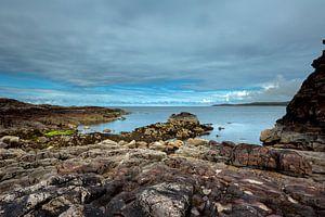 Monding van Loch Ewe - Schotland