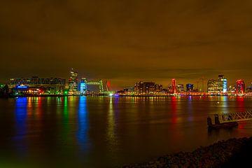 Skyline Rotterdam von Eddie Visser