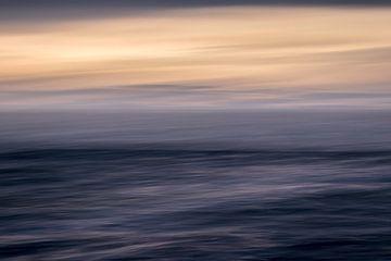 Zon zee en horizon van Marga Vroom