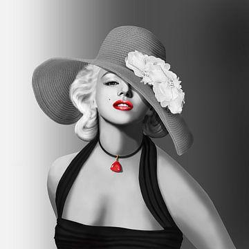 La beauté des années 50 sur Monika Jüngling