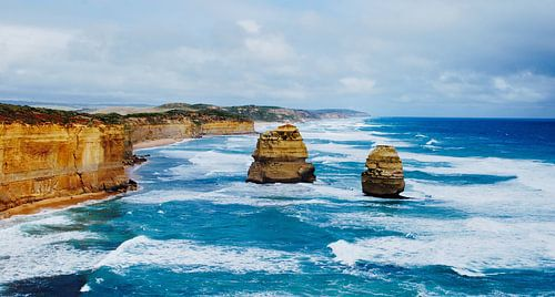 De Twaalf Apostelen (Australië) van Maurits Simons Fotografie