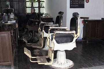 Antieke kapsalon, China van Inge Hogenbijl