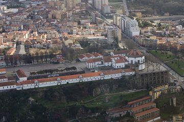 luchtfoto van het klooster van Porto van