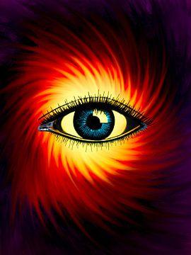 Hypnotisch oog van Keep Magic