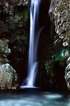 Ein Wasserfall in Südspanien von Kelvin Middelink