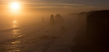 12 Apostles Australie von Chris van Kan