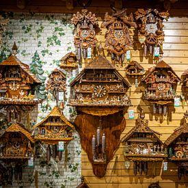 Kuckucksuhren aus dem Schwarzwald von Ursula Di Chito