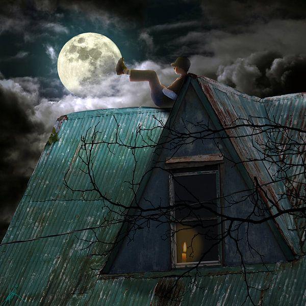 My Friend the Moon van Harald Fischer