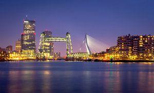Rotterdam Skyline van Dennis Donders