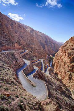 Dadès Vallei - Marokko van Gerard Van Delft