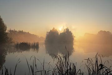 sfeervolle zonsopkomst van Rob Bout