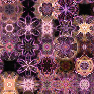 Mustermix Mandala pink von Sabine Wagner