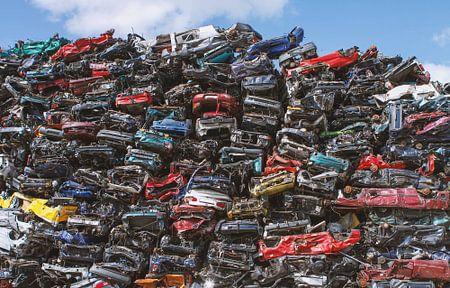 Auto dump in Amsterdam