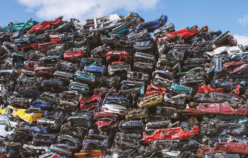 Auto dump in Amsterdam van Hamperium Photography