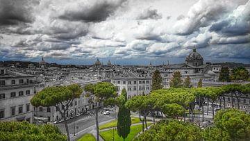 Uitzicht op Rome von Jasper Bloemsma