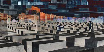 impressie Holocaust monument en omgeving van Hanneke Luit