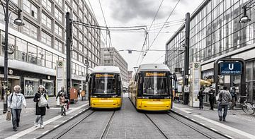 Metro in Berlijn van Guus van der Linde