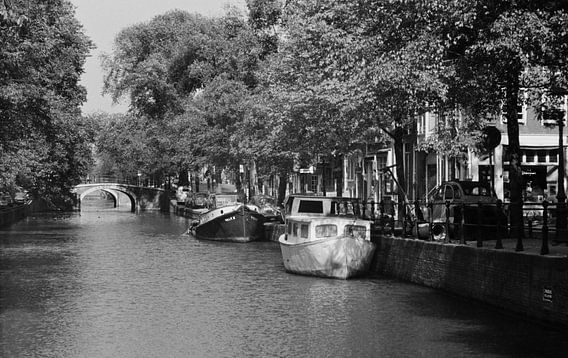 Amsterdam, Keizersgracht, 1954 van Ton deZwart