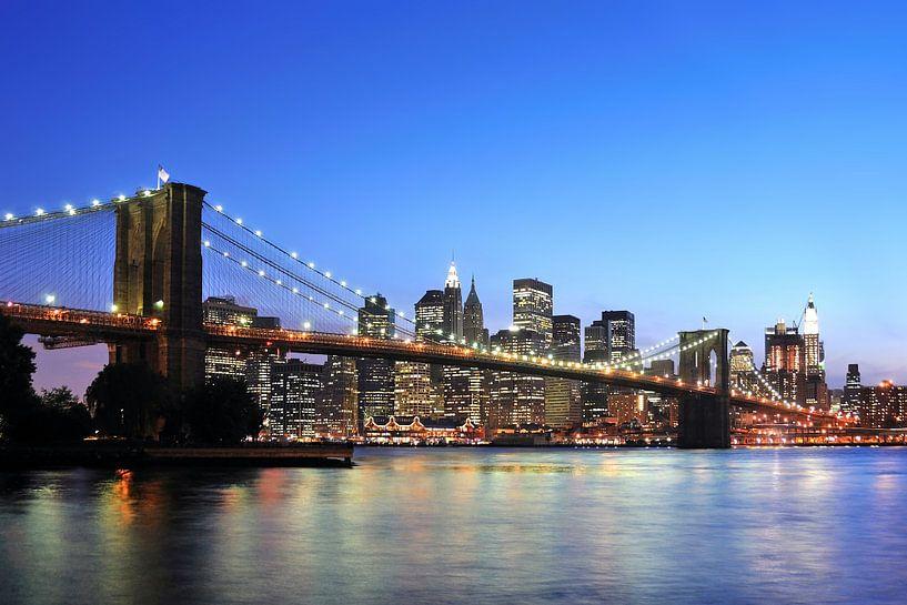 Brooklyn Bridge van Paul van Baardwijk