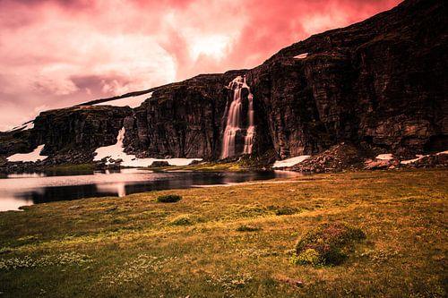 Flotvatnet meer aan de Snøvegen 2