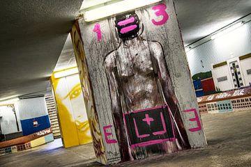 Graffity met een grote 'G', Lissabon Subway von Wim Goedhart
