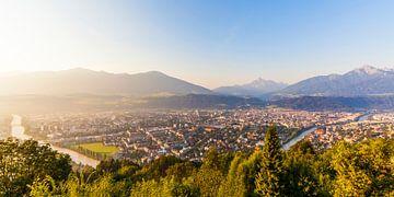 Innsbruck in Tirol von Werner Dieterich