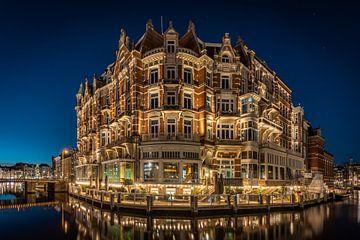 Het prachtige hotel De L'Europe Amsterdam. van Claudio Duarte